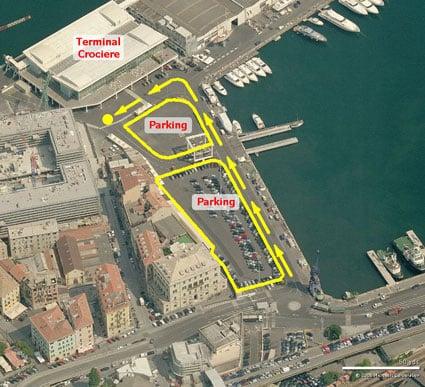 bon plan parking croisi 232 res au d 233 part du port de savone