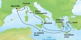 itinéraire Tresors antiques avec le  Costa Neoromantica
