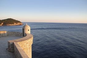 La ville fortifiée de Dubrovnik (Croatie)