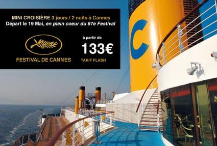 Débarquez sur la Croisette à bord du Costa Mediterranea en plein coeur du 67e Festival de Cannes