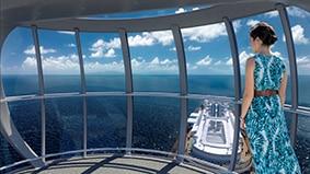 Vue à 360° depuis le NothStar