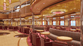 Le grand Bar du Costa Diadema