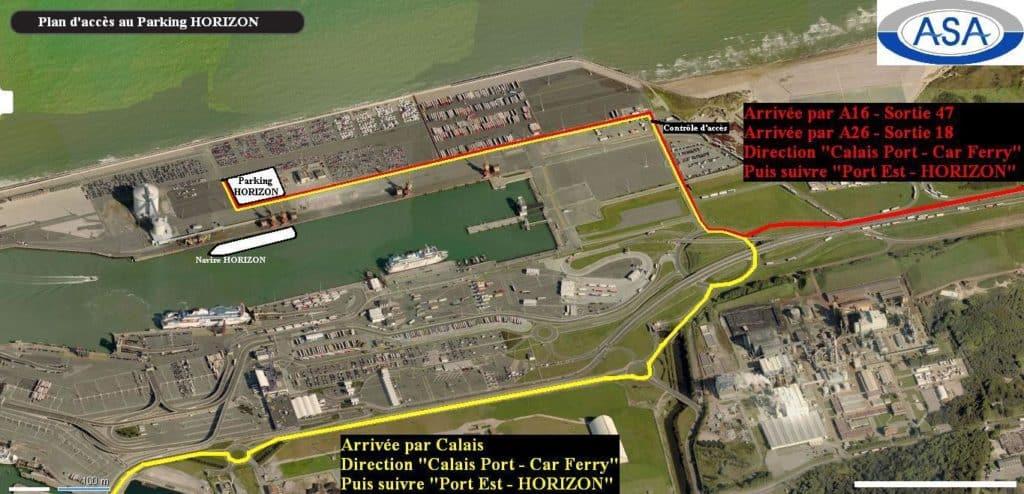 Parking Port Infos Pratiques Terminal Croisière De Calais - Parking port de marseille croisière