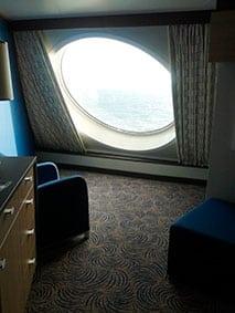 cabine vue mer Quantum of the Seas