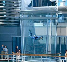 Le RipCord ou l'expérience du parachutisme en pleine mer