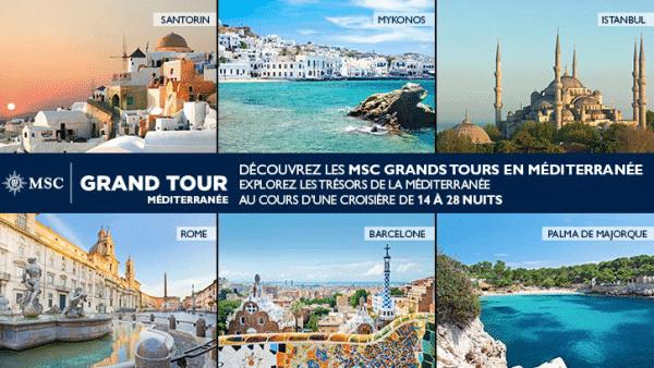 MSC Grand Tours Méditerranée