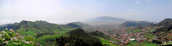 San Cristóbal de La Laguna, nord de l'île de Tenerife