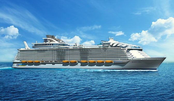 Le futur Harmony of the Seas