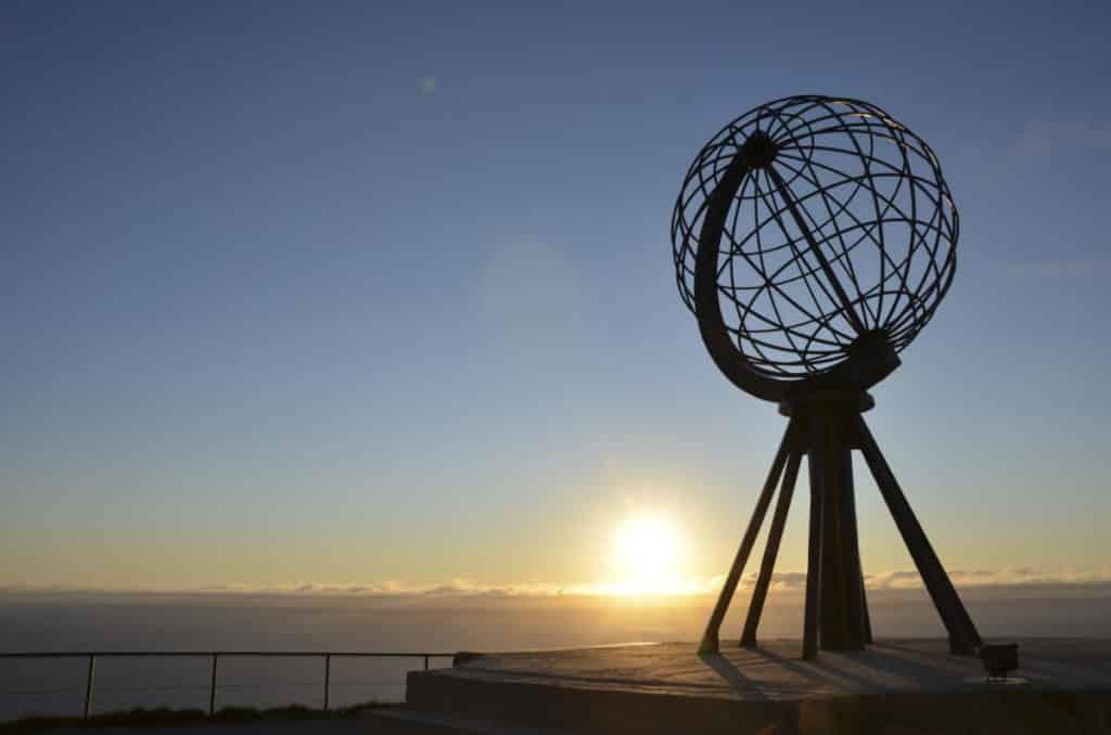 Sculpture du Cap Nord © Ponant