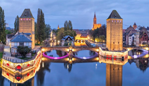 Pont couverts - Strasbourg