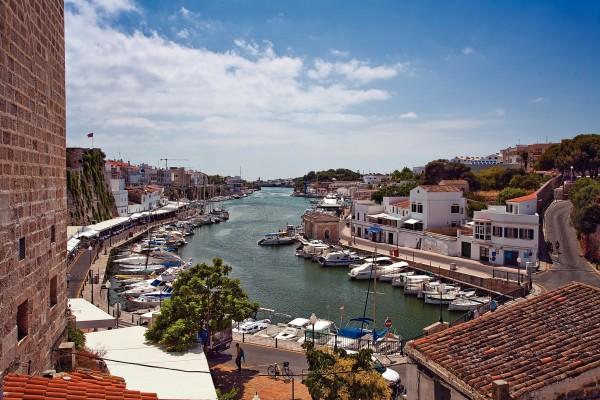 Village de Ciutadella à Minorque