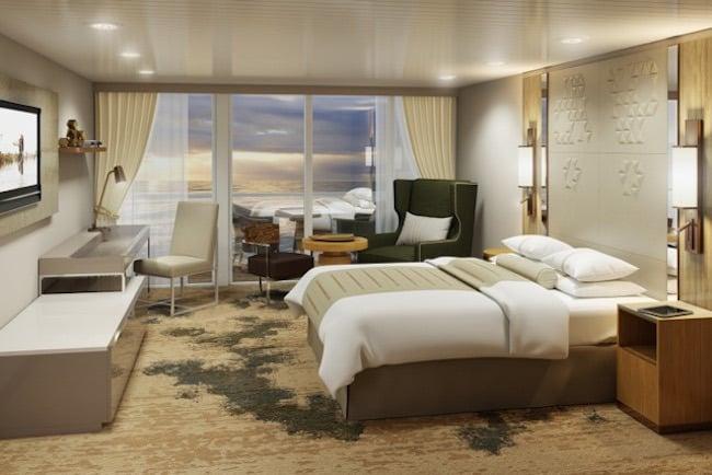 """Aperçu d'une suite """"Continental"""" © Azamara Club Cruises"""