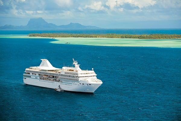 Le navire Paul Gauguin croisiere Polynésie