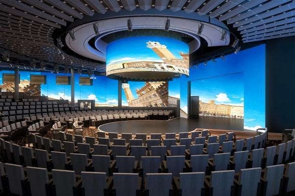 La World Stage et son écran LED à 270°