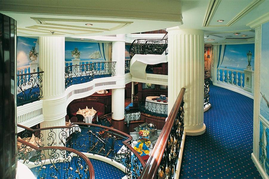 Lobby du Royal Clipper