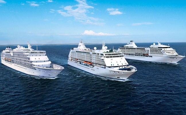 La flotte Regent : Seven Seas Navigator, Seven Seas Voyager et Seven Seas Mariner