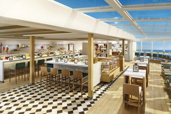 Le futur restaurant Food Republic © NCL
