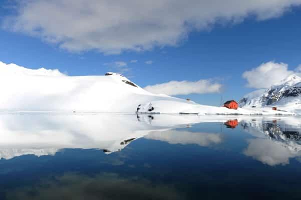 Paysages du Grand Continent Blanc