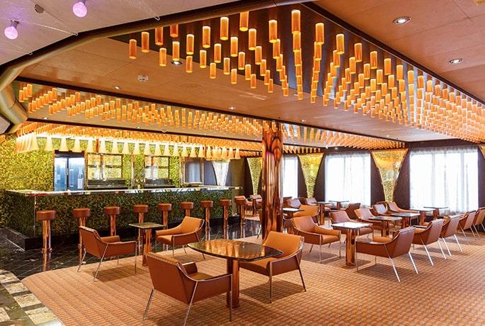 Le bar Bollicine du Costa Diadema