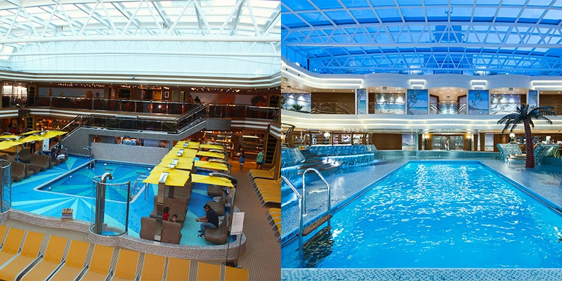 Comparatif choisir le msc preziosa ou le costa diadema for Piscine du lido