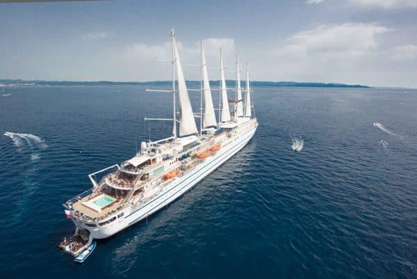 Vue aérienne du Club Med 2