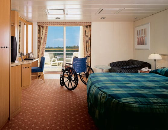 Cabine balcon accessible sur le Celebrity Summit