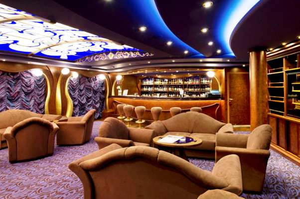Cigar Lounge sur le MSC Divina