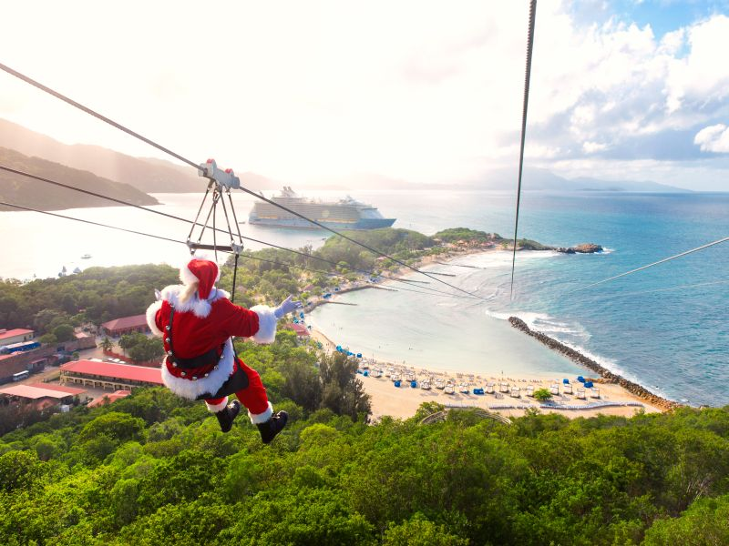 croisière-noel-royal-caribbean-pere-noel-theme-vacances