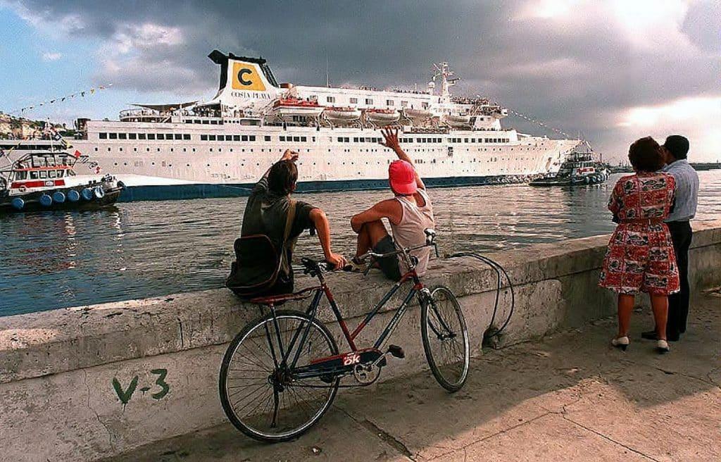 Hiver 1995, Costa Croisières proposait des itinéraires de 7 nuits depuis La Havane