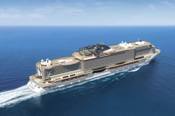 Poupe du MSC Seaside