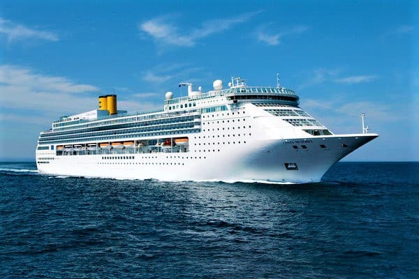 Costa Victoria, navire au design moderne