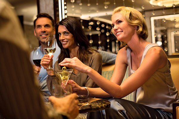 Chez Regent Seven Seas Cruises, un grand choix de boissons vous attend