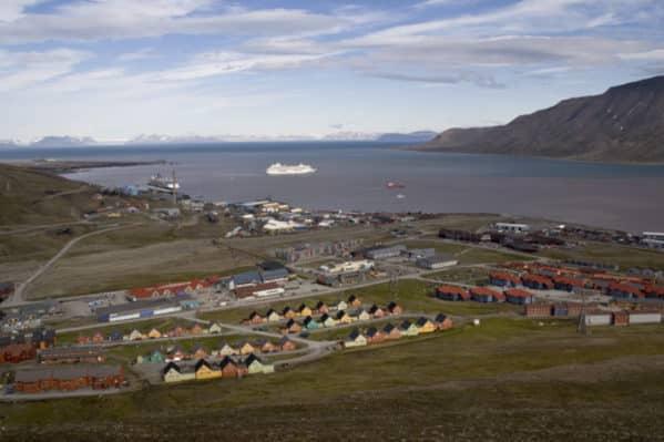 Panaroma de Longyearbyen