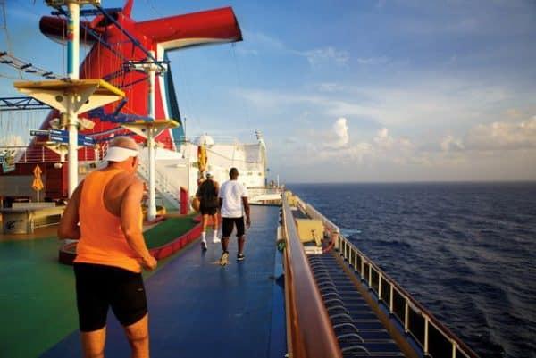 Quoi de mieux que de faire son jogging en pleine mer ?