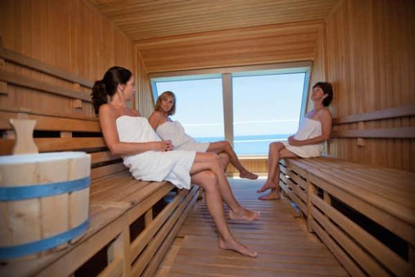 Le sauna ne vous fera perdre que de l'eau